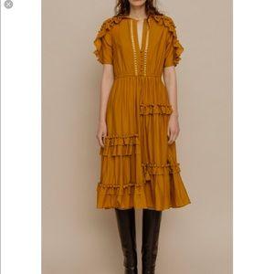 Sea New York Dresses - Staircase ruffle dress